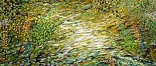 Woodland Stream by Stephen Yates (Acrylic Painting)