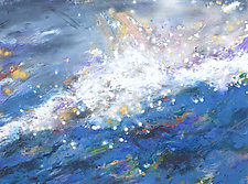 Whitewater Splash by Stephen Yates (Acrylic Painting)