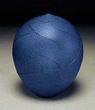 Indigo Wrap by Nicholas Bernard (Ceramic Vessel)