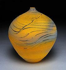 Titanium Topography by Nicholas Bernard (Ceramic Vessel)