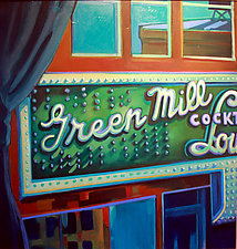 Green Mill by Jason Watts (Oil Painting)