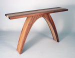 Arched Console by Kerry Vesper (Wood Console Table)