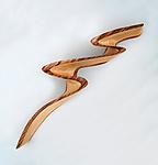 Lightning by Kerry Vesper (Wood Wall Sculpture)