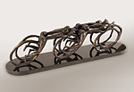 Peleton by Thomas (Bud) Skupniewitz (Bronze Sculpture)