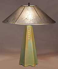 Stony Brook Table Lamp by Jim Webb (Ceramic Table Lamp)