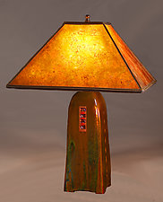 North Union Table Lamp by Jim Webb (Ceramic Table Lamp)