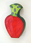 Summer Bounty Vases by Diana Crain (Ceramic Wall Sculpture)