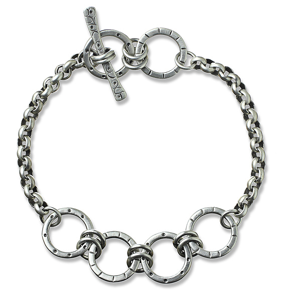 Four Circle Layer Bracelet