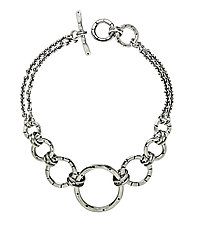 Mini-Gradient Bracelet by Jodi Brownstein (Silver Bracelet)