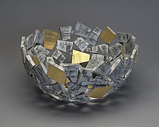 VIVA! Bowl by Susan Madacsi (Metal Bowl)