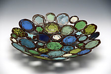 Blue Vitriol by Susan Madacsi (Metal Bowl)