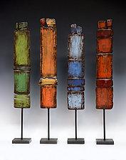 Stand Tall by Susan Madacsi (Metal Sculpture)