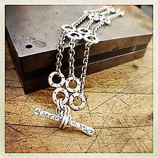 Sterling Silver Chandy Rae Bracelet by Jodi Brownstein (Silver Bracelet)