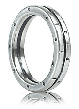 Double Stack Ring by Jodi Brownstein (Silver Ring)