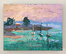 Restful Eve by Dorothy Fagan (Oil Painting)