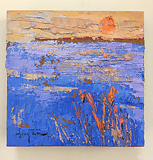 Vibrant Sunset by Dorothy Fagan (Oil Painting)