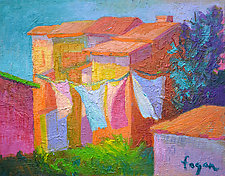Fresh Air by Dorothy Fagan (Oil Painting)