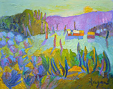 My Side of the Mountain II by Dorothy Fagan (Oil Painting)
