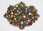 Confectioner's Cloud in Bright Colors by Susan Madacsi (Metal Wall Sculpture)