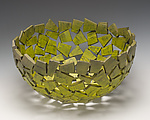 Green Monster Wabi Sabi Vessel by Susan Madacsi (Metal Bowl)