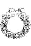 Quad Chain Bracelet by Jodi Brownstein (Silver Bracelet)