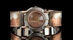Full Moon Copper Wave by Eduardo Milieris (Silver & Copper Men's Watch)