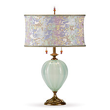 Lila by Susan Kinzig and Caryn Kinzig (Mixed-Media Table Lamp)