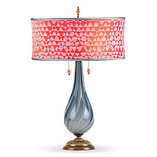 Sacha by Susan Kinzig and Caryn Kinzig (Mixed-Media Table Lamp)