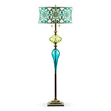 Ed by Susan Kinzig and Caryn Kinzig (Mixed-Media Floor Lamp)