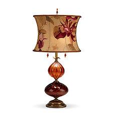 Mariola by Susan Kinzig and Caryn Kinzig (Mixed-Media Table Lamp)