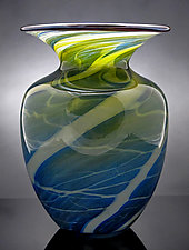 Boat House Vase by Michael Richardson, Justin Tarducci, and Tim Underwood (Art Glass Vase)