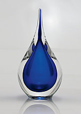 Water Drop Paperweight by Michael Richardson, Justin Tarducci, and Tim Underwood (Art Glass Paperweight)