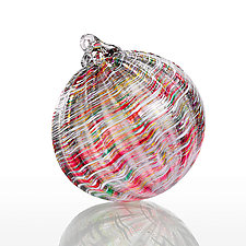 The Night Before Christmas by Michael Richardson, Justin Tarducci and Tim Underwood (Art Glass Ornament)