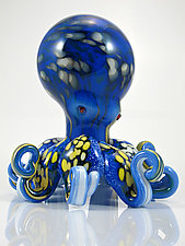 Octopus by Michael Richardson, Justin Tarducci, and Tim Underwood (Art Glass Sculpture)