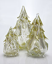 Tree Sculptures by Michael Richardson, Justin Tarducci and Tim Underwood (Art Glass Sculpture)