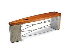 Jupiter by Peter Harrison (Wood, Concrete & Metal Bench)