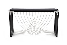 Divergence by Peter Harrison (Wood & Aluminum Console Table)