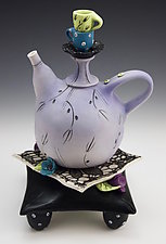 T42 (Tea for Two) by Laura Peery (Ceramic Teapot)
