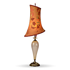 Gisela by Susan Kinzig and Caryn Kinzig (Mixed-Media Table Lamp)