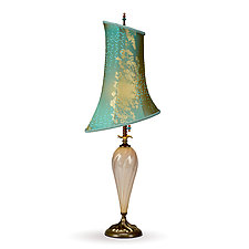 Alexandra by Susan Kinzig and Caryn Kinzig (Mixed-Media Table Lamp)