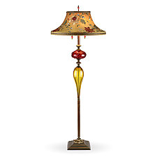 Freddy by Susan Kinzig and Caryn Kinzig (Mixed-Media Floor Lamp)