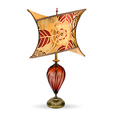 Joanna by Susan Kinzig and Caryn Kinzig (Mixed-Media Table Lamp)