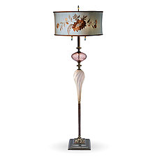 Joel by Susan Kinzig and Caryn Kinzig (Mixed-Media Floor Lamp)