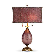 Nicole by Susan Kinzig and Caryn Kinzig (Mixed-Media Table Lamp)