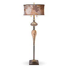 Nicholas by Susan Kinzig and Caryn Kinzig (Mixed-Media Floor Lamp)