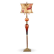 Michael by Susan Kinzig and Caryn Kinzig (Mixed-Media Floor Lamp)