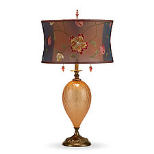 Belle by Susan Kinzig and Caryn Kinzig (Mixed-Media Table Lamp)