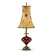 Frankie by Susan Kinzig and Caryn Kinzig (Mixed-Media Table Lamp)