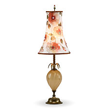 Georgia by Susan Kinzig and Caryn Kinzig (Mixed-Media Table Lamp)