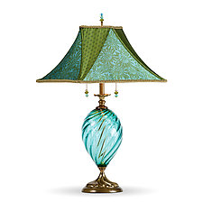 Jennifer by Susan Kinzig and Caryn Kinzig (Mixed-Media Table Lamp)